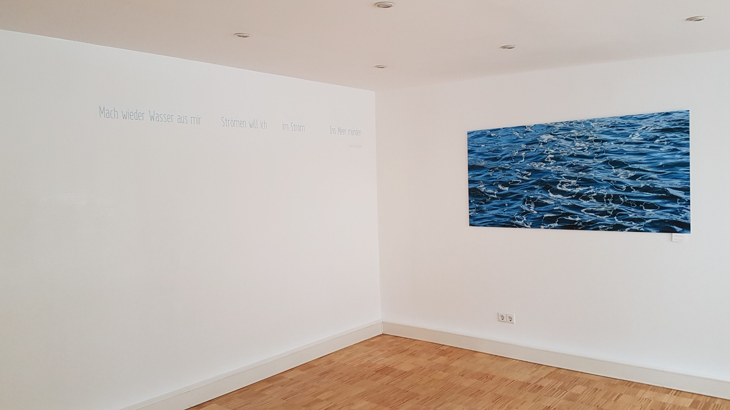 Raum am Fluss – Wand