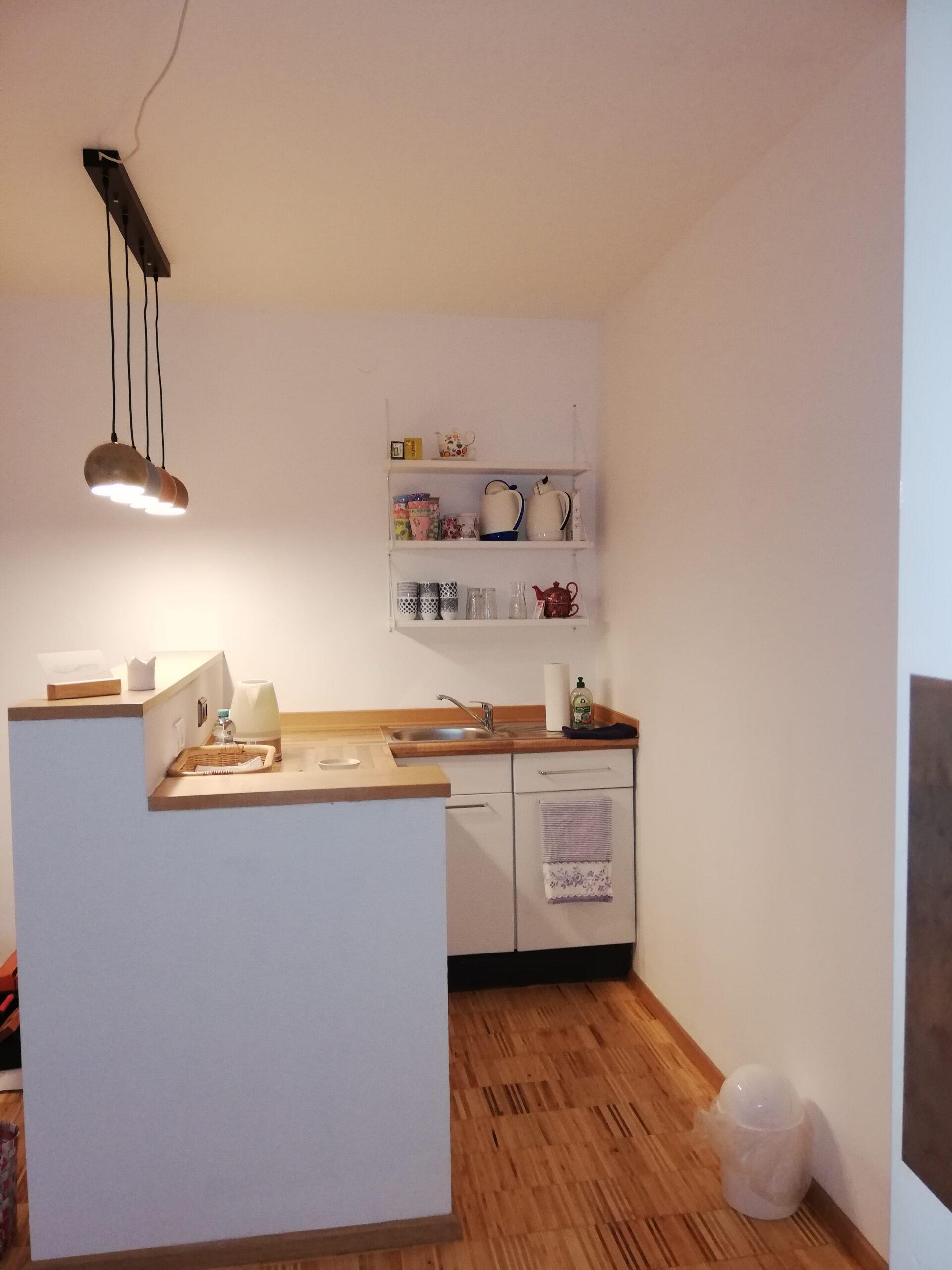 Raum am Fluss – Küche