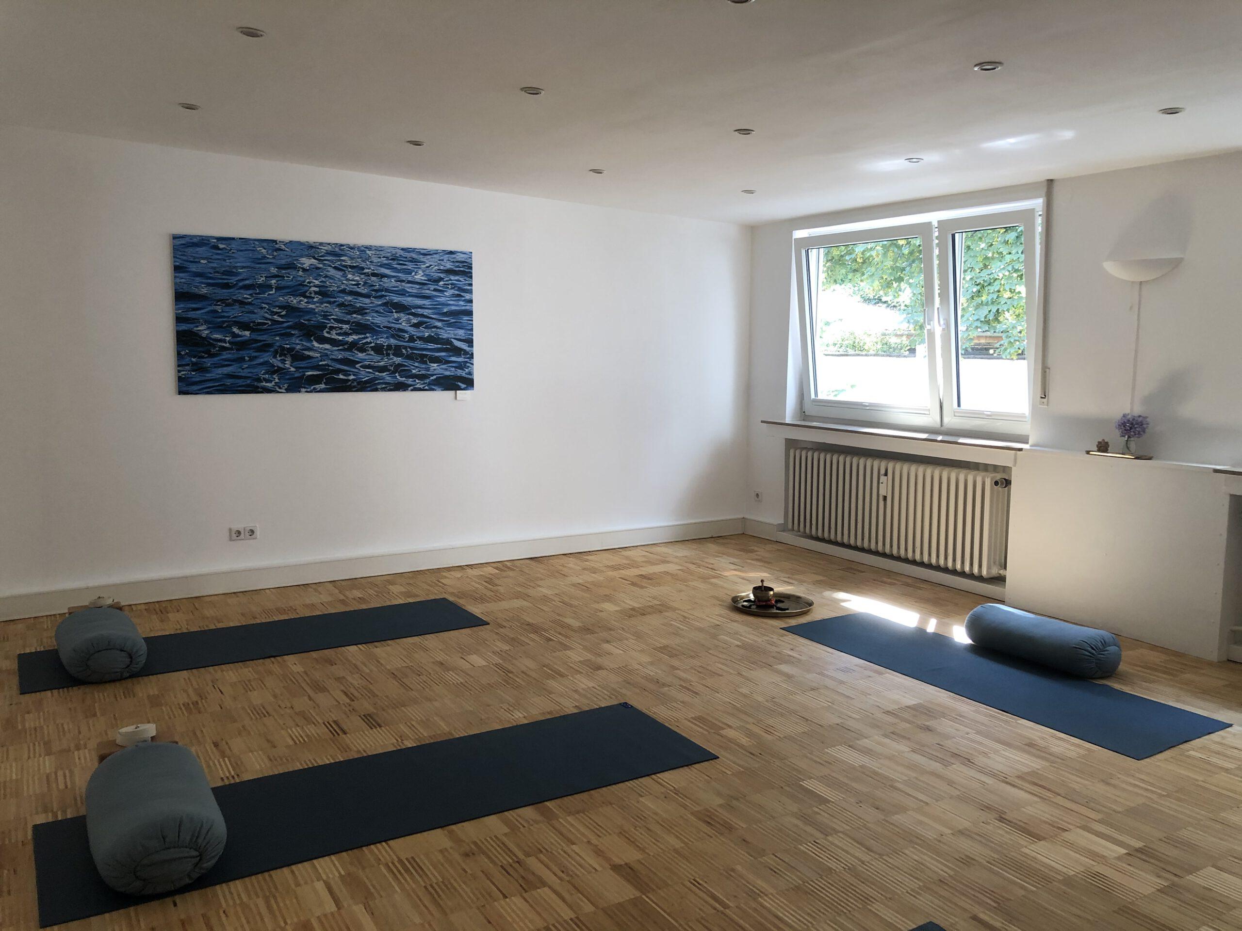 Raum am Fluss – Yoga-Raum